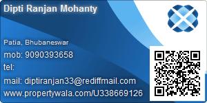 Dipti Ranjan Mohanty - Visiting Card