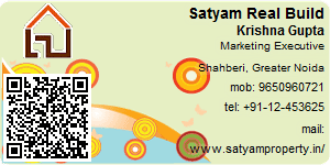 Visiting Card of Satyam Real Build Pvt. Ltd.