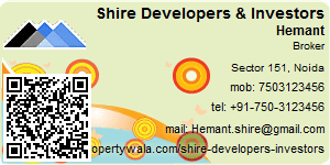 Visiting Card of Shire Developers & Investors Pvt Ltd