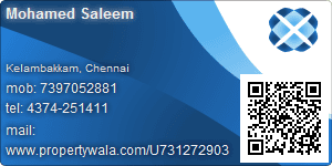 Mohamed Saleem - Visiting Card