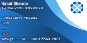 Rahul Sharma - Visiting Card