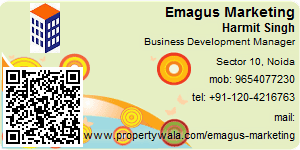 Visiting Card of Emagus Marketing