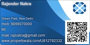 Rajender Nakra - Visiting Card