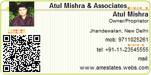 Atul Mishra - Visiting Card