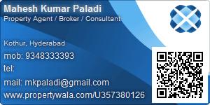 Mahesh Kumar Paladi - Visiting Card