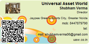 Visiting Card of Universal Asset World