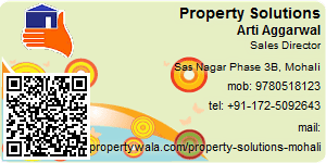 Visiting Card of Property Solutions