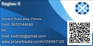 Raghav K - Visiting Card
