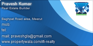 Visiting Card of IFI Realty Pvt Ltd