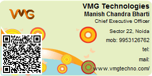 Visiting Card of VMG Technologies