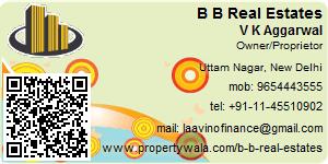 Visiting Card of B B Real Estates
