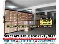 Building for rent in Mayapuri Industrial Area Ph-I, New Delhi