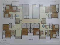 Floor Plan 3 BHK Compact & Large