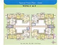 Typical Floor Plan Wing C&F - C