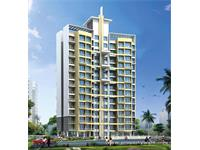 1 Bedroom Flat for sale in Space India Excellence Tower, Road Pali Village, Navi Mumbai