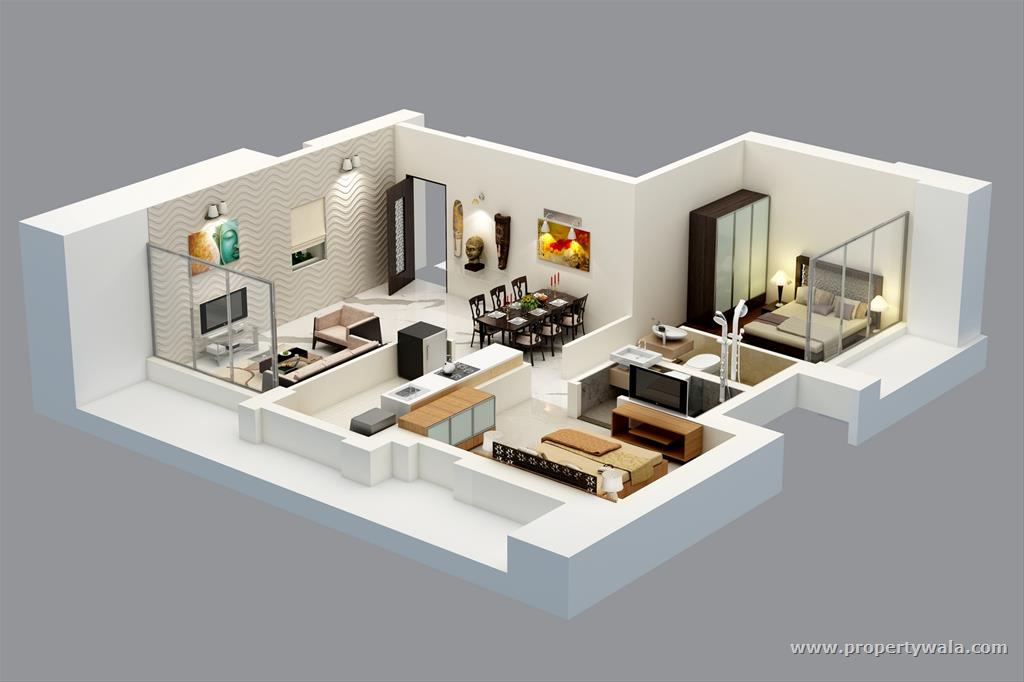Adhiraj samyama kharghar navi mumbai apartment flat for 1 bhk flat interior decoration
