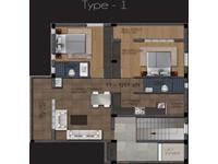2BHK - 1207 Sq. Ft.