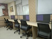 1 cabin 8 workstion + fully furnished for rent in noida near metro