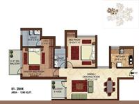 B1 3BHK - 1640 Sq Ft