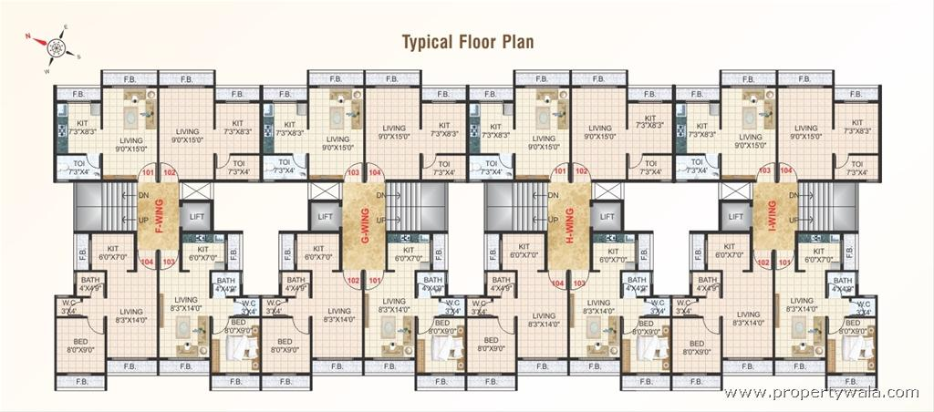 Wonderful Apartment Floor Plans India Plan Of Intended Ideas