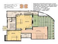 Upper Penthouse Floor Plan