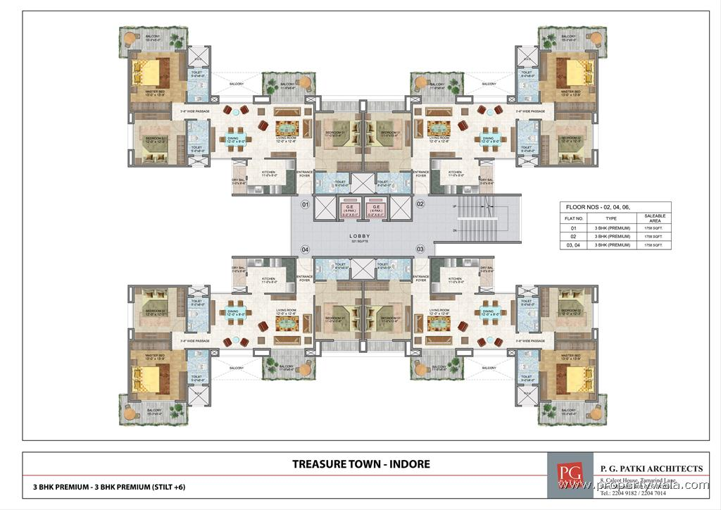 Westgate Town Center 4 Bedroom Floor Plans Thefloors Co