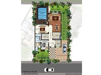 4 BHK - Ground Floor Plan-A