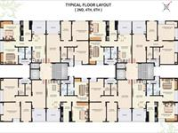 Typical Floor Plan 2nd, 4rth, 6th floor