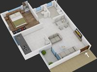 1 Bedroom Apartment / Flat for sale in Bavdhan, Pune