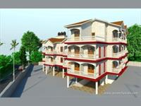 2 Bedroom Flat for sale in Mother Agnes Hill Top Residency, Aldona, North Goa