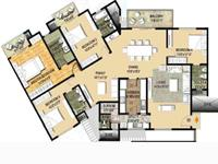 4 BHK - Floor Plan