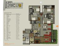 4 BHK - Floor Plan - B