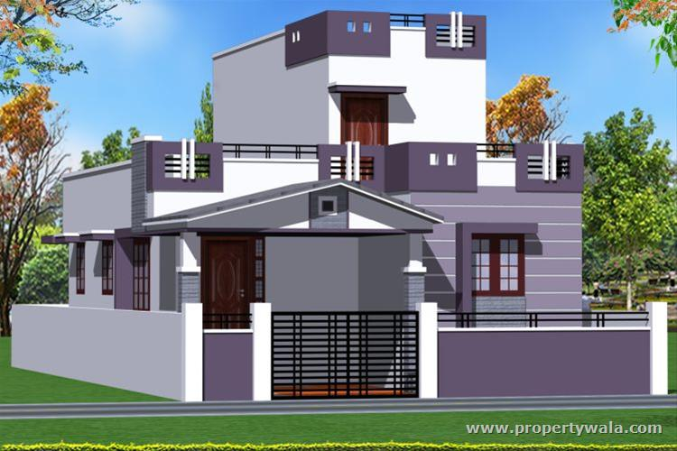 South Facing Ground Floor Elevation : Jrd smart homes kovaipudur coimbatore independent