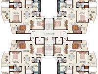 3 BR Floorplan