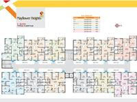 3 BHK: 1375 to 1750 sq. ft.