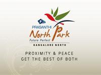 Land for sale in Prasanthi North Park, Devanahalli Road area, Bangalore