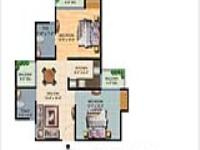 Floor Plan For 2BHK