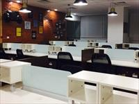 50 + work seats furnished to taste work stations cabins , conference room, meeting room ,