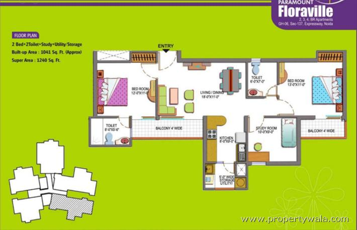 Paramount Floraville Sector 137 Noida Independent House Project
