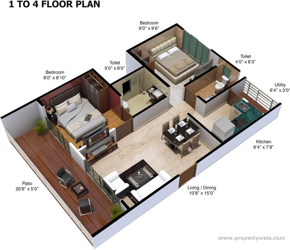 Xrbia abode talegaon pune apartment flat project for Floor plan project
