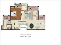 3 BHK 1390 Sq. Ft.