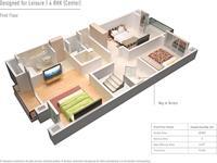 4 Bhk 1st Floor Plan