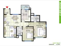 2BR Floor Plan