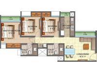 3BHK - Floor Plan