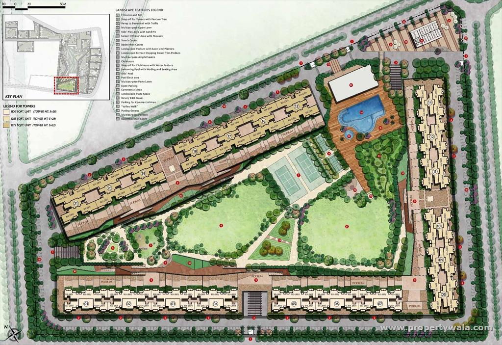 Tata value homes sector 150 noida apartment flat for Home site plan