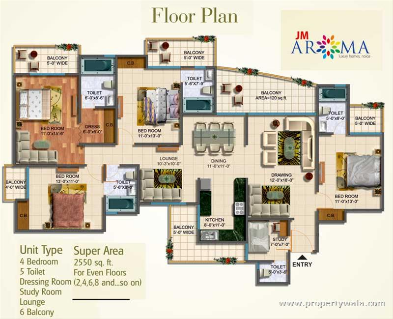 Jm Aroma Sector 75 Noida Apartment Flat Project