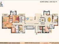 Floor Plan-7(Panthouse)