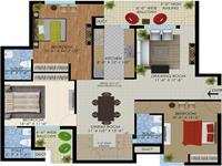 Pent House -Super Area:1806.46 sq.ft. + 432 sq.ft