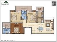 1460 sq. ft. Unit Plan