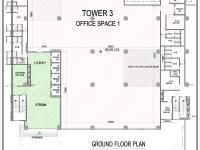 Commercial Tower-III Floor Plan
